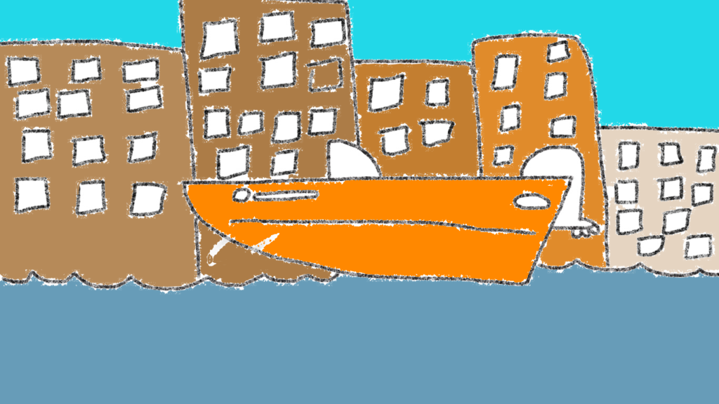 """""""Venice Boat"""" by Laia"""